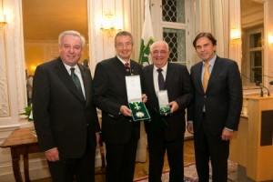 Günter Müller: Verleihung goldenes Ehrenzeichen des Landes Steiermark
